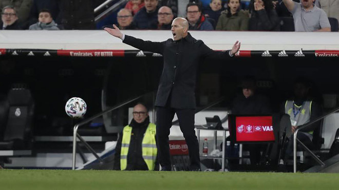 Zidane: I don't think Real Madrid's team selection was wrong - Bóng Đá