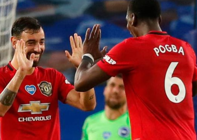 Fernandes: I don't want to talk too much about me and Pogba - Bóng Đá