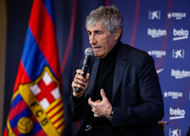 Ex-president Rosell: 'It's not true that Setien will be sacked' - Bóng Đá