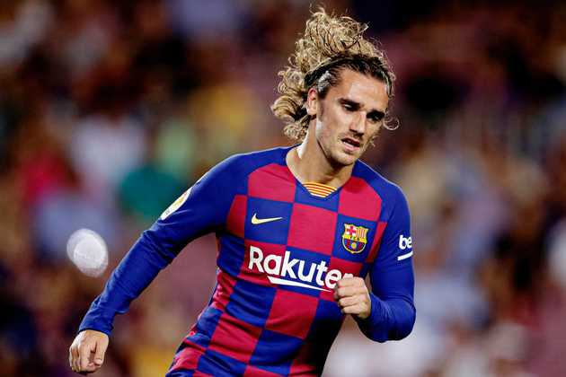 Griezmann reportedly joins 6-man list of non-transferable players at Barca - Bóng Đá