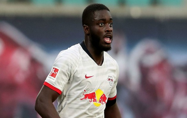 Dayot Upamecano will only leave RB Leipzig next summer for a Champions League club. - Bóng Đá